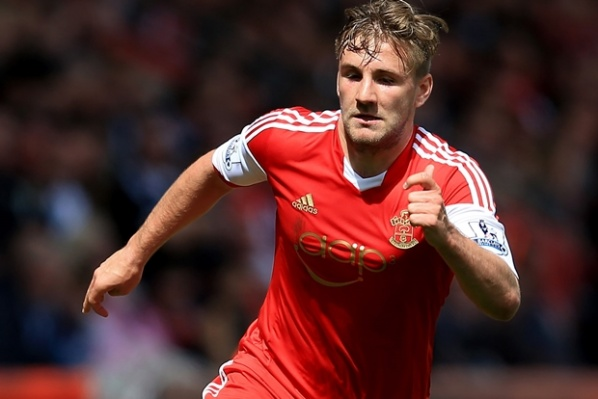 Manchester United gives 25 million for Luke Shaw
