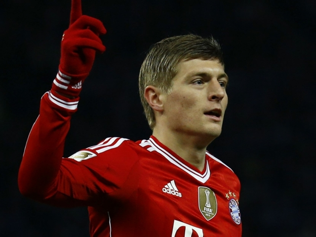 Manchester United agreed Toni Kroos
