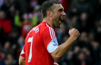 Deal: Rickie Lambert signed with Liverpool