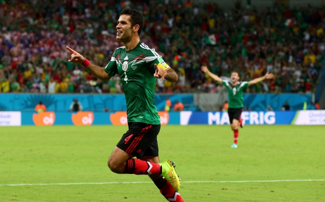 Rafael Marquez equalized the Mexican record