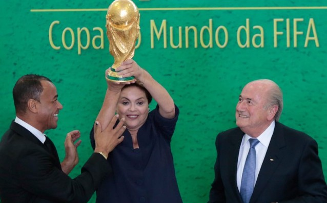 Dilma Rousseff will award the trophy to the new champion