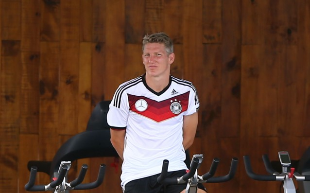 Schweinsteiger ready for the match against Brazil