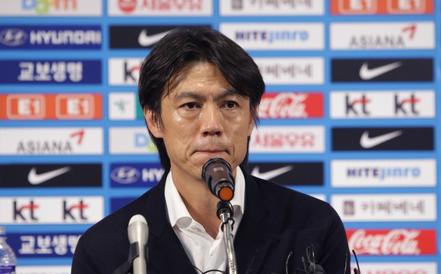 The coach of Republic of Korea resigned