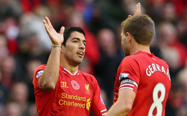Gerrard: Suarez is too good to play at Arsenal