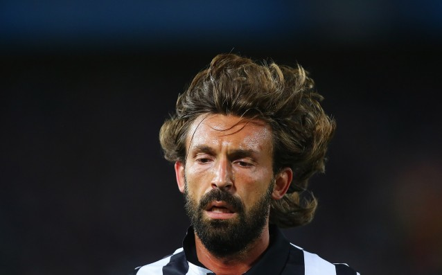Andrea Pirlo our for a month