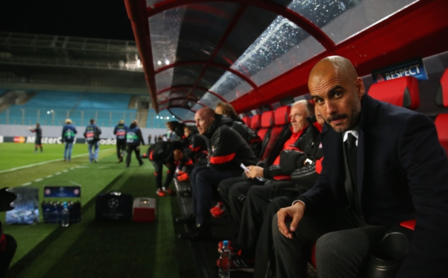 Guardiola disappointed by the empty stands in Moscow