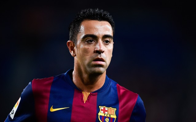 Xavi improve the record of Raul