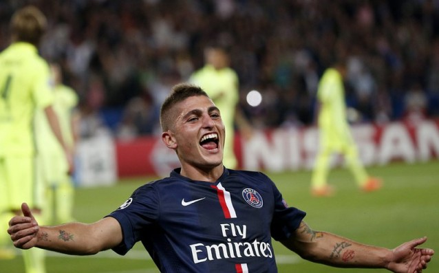 Verati after his first goal for PSG: A dreamed night for me