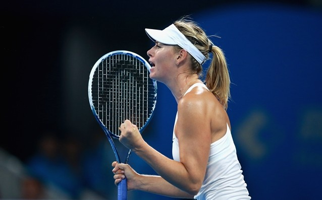 Sharapova is the first quarterfinals in Beijing