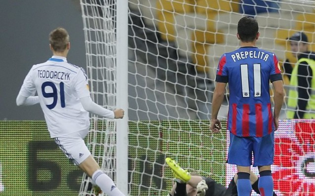 Dynamo Kiev took Eastern European derby with Steaua