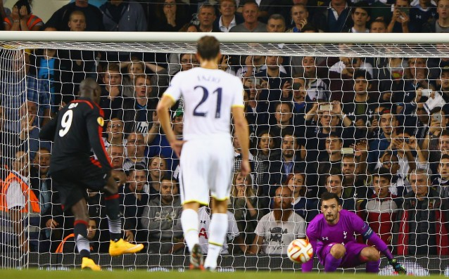 Besiktas stole a point from Tottenham with a penalty kick at the end