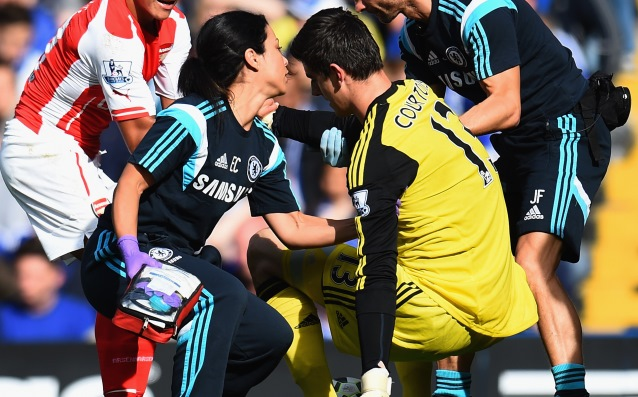 Courtois injury is not serious