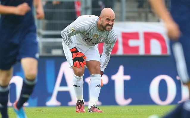 Jose Reina out for a few weeks