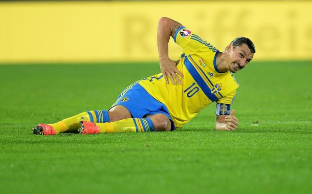 Final: Ibra out for the clash with Russia