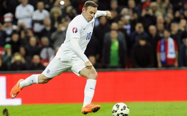 Rooney chased two bearded records of England