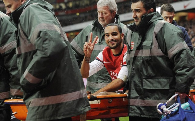 The nightmare is over for Walcott, resumed training