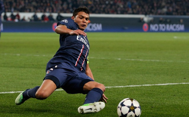 Thiago Silva began training