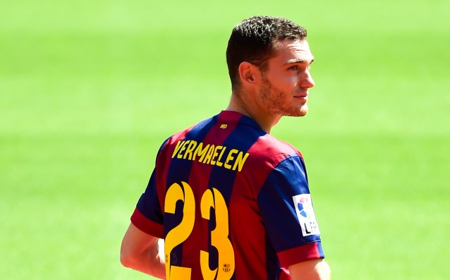 Vermaelen and Rafinha ready for the match against Eybar