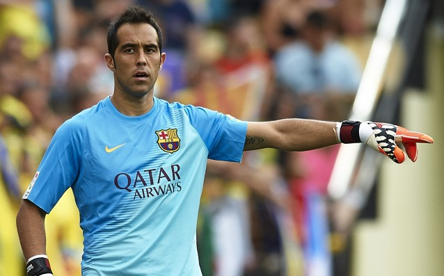 Claudio Bravo and the Spanish national team resumed training in Barcelona