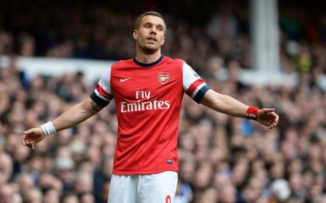 Podolski threatened: I will leave Arsenal in January