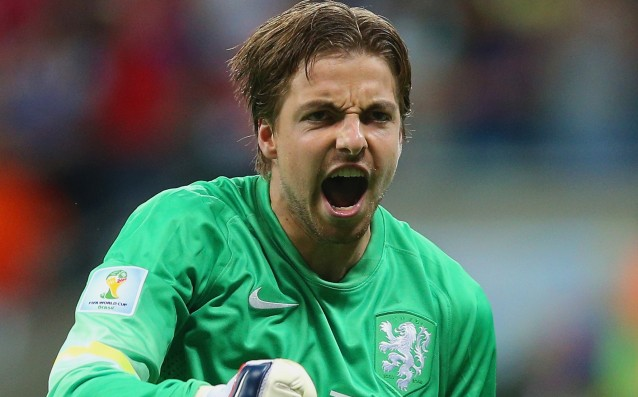 The trauma of Tim Krul is not serious