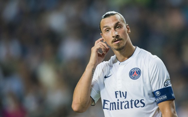 Zlatan Ibrahimovic misses the match with Lance