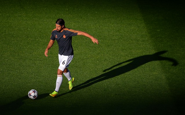 Khedira started training