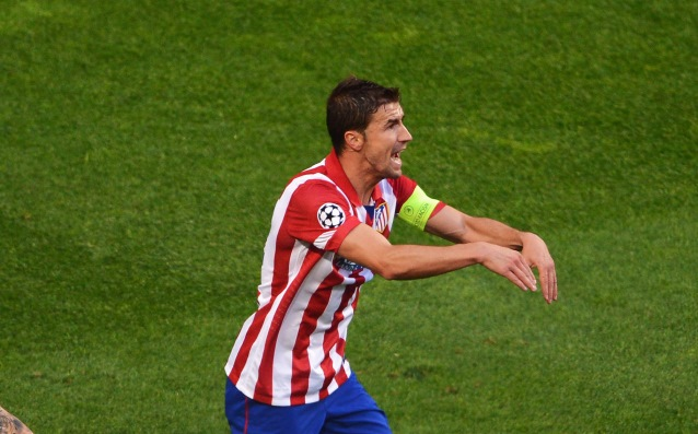 Atletico captain questioned for Malmo