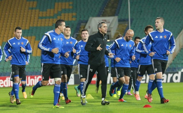 Basel trained at Gerena after loss from Ludogorets
