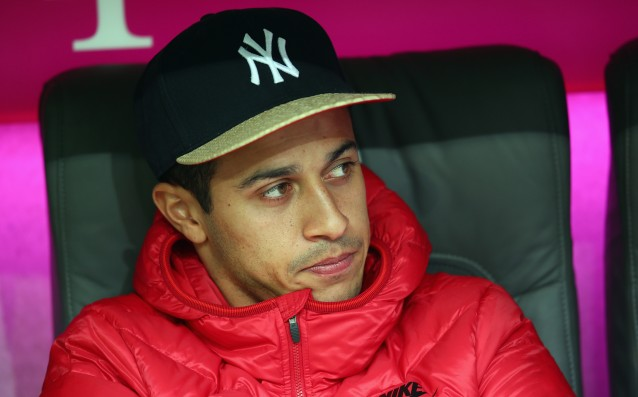 Thiago Alcantara has undergone successful surgery