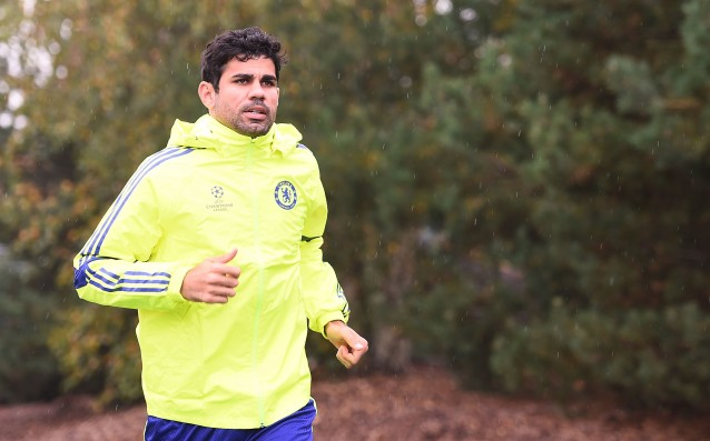 Diego Costa was discharged from the hospital.