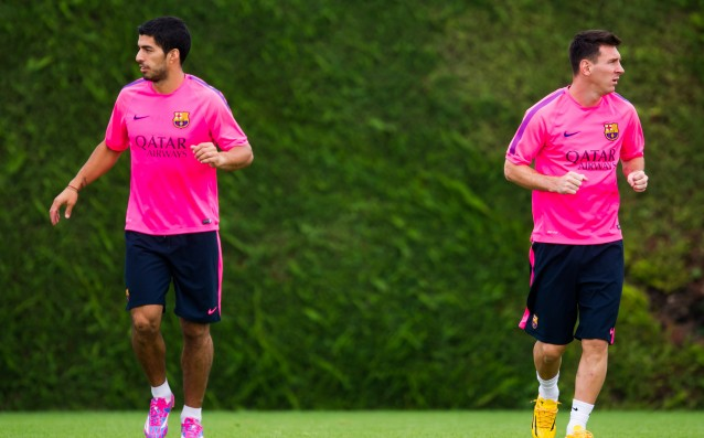 Messi: With Suarez will be even stronger