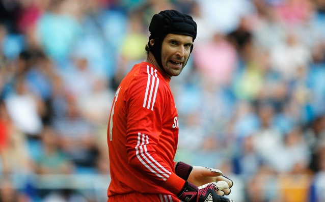 Surprising candidate for the signature of Petr Cech
