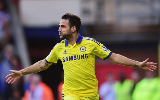 Fabregas became captain of Chelsea