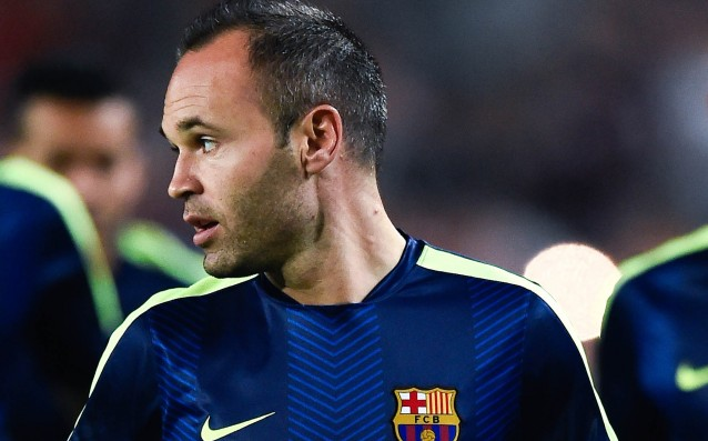 Confirmed Iniesta's injury, it is not clear when he will return to the game