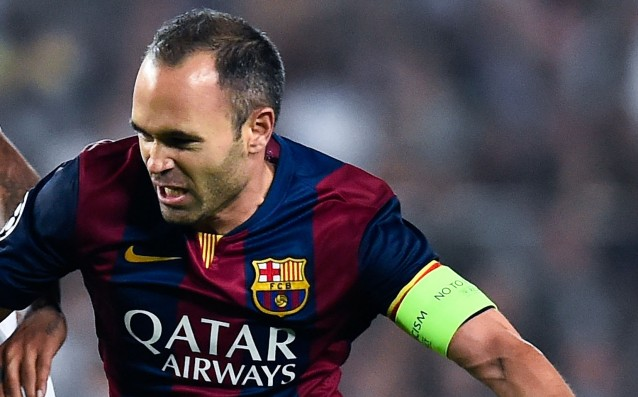Iniesta misses the next four games of Barca