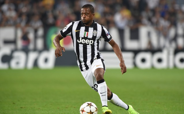 Patrice Evra out for a month