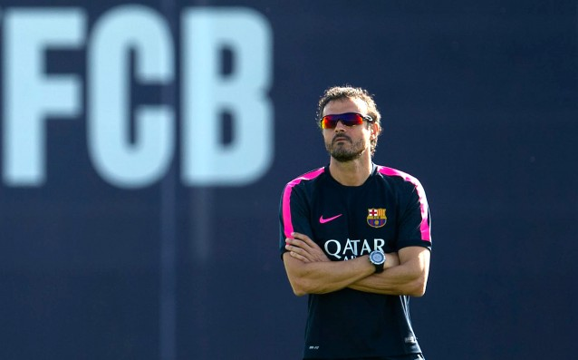 Luis Enrique believes in his players