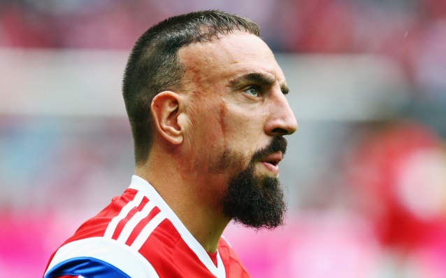 Franck Ribery accepted the apologies of Hamburger