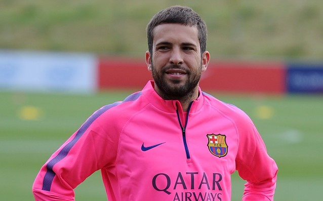 Jordi Alba with injury, misses the match against Ajax