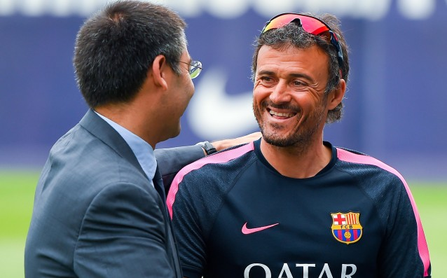 Barca president: We have full confidence in Luis Enrique