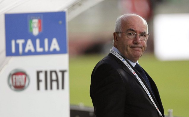 FIFA punished the boss of the Italian  football for six months