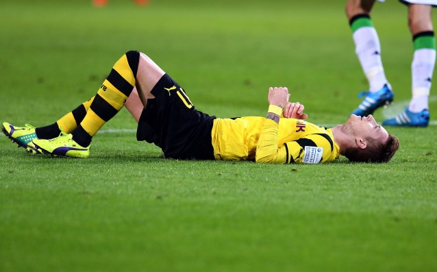 Marco Reus again injured, out for the matches of Germany
