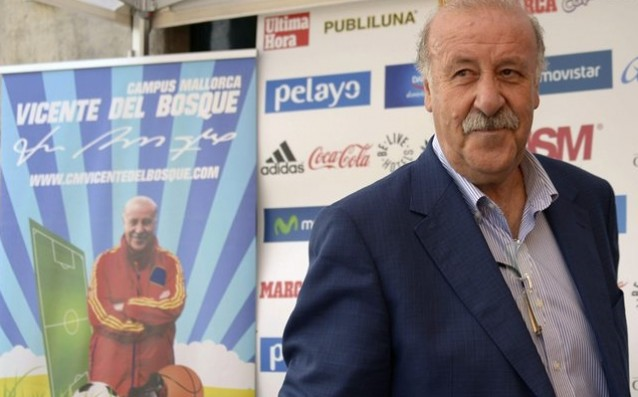 Del Bosque: In La Liga there are many foreigners, but I do not mind