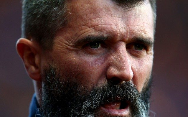 Roy Keane knocked a football fan