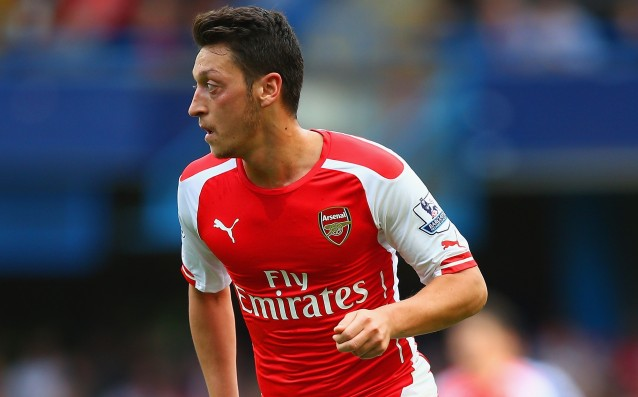 Mesut Özil more nearly two months sidelined