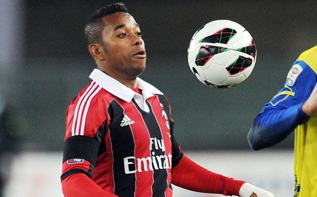Robinho does not want to return to Milan