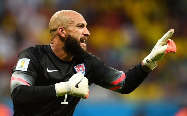 Tim Howard became the player of the year in the US