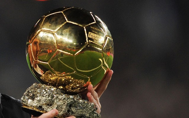 On Monday announced the three finalists for Ballon d'Or