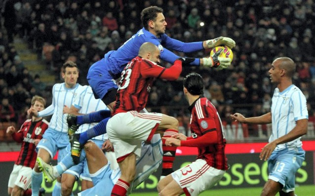 Milan has failed against the ten footballers from Lazio